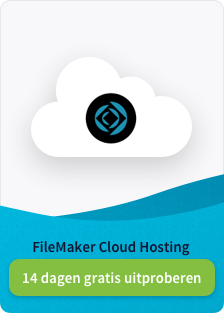 FileMaker Cloud Hosting - 14 dagen uitproberen